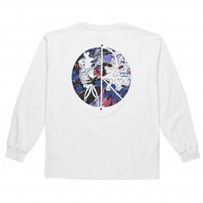 Go to the product T-shirt Polar Skeleton Fill Logo Longsleeve white 2018