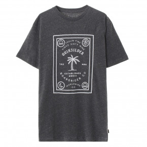Go to the product T-shirt Quiksilver Bad Liar charcoal heather 2020