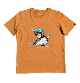Go to the product T-shirt Quiksilver Banana Alley Boy apricot buff 2020