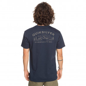 Go to the product T-shirt Quiksilver Before Light Organic navy blazer 2020