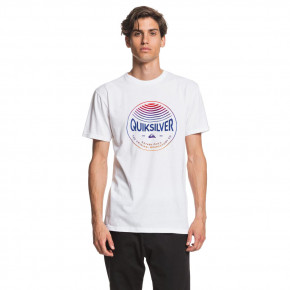 Go to the product T-shirt Quiksilver Colors In Stereo snow white 2020
