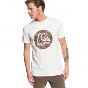 Go to the product T-shirt Quiksilver Custom Prints antique white heather 2019