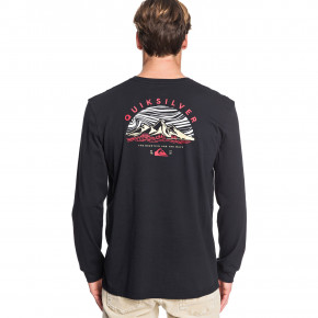 Go to the product T-shirt Quiksilver Dunescape Ls black 2019