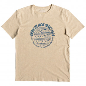 Go to the product T-shirt Quiksilver Good Arvo warm sand heather 2019