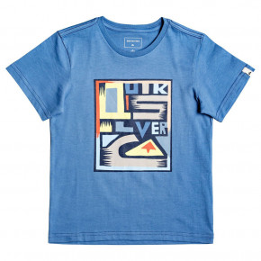 Go to the product T-shirt Quiksilver Jumbled Up Boy quiet harbor 2019