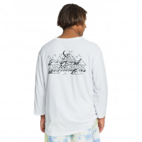 Go to the product T-shirt Quiksilver Og Mid Sleeve white 2020