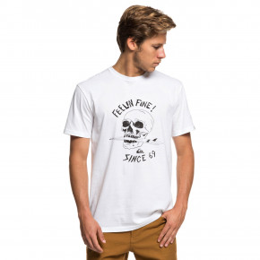 Go to the product T-shirt Quiksilver Skull Board Tee 2019