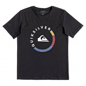 Go to the product T-shirt Quiksilver Slab Session SS Youth black 2018