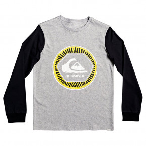 Go to the product T-shirt Quiksilver Solar Sun Ls Youth athletic heather 2019