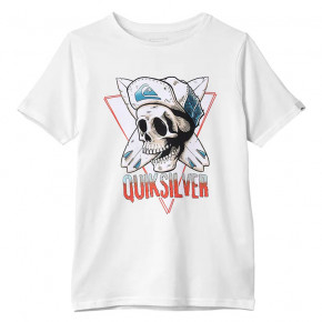 Go to the product T-shirt Quiksilver Soul Arch Youth white 2019