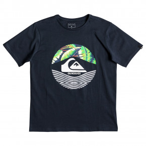 Go to the product T-shirt Quiksilver Stomped On Youth blue nights 2019