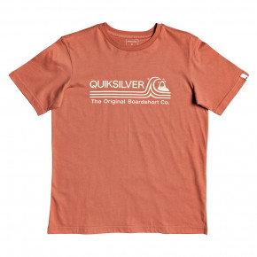 Go to the product T-shirt Quiksilver Stone Cold Classic Youth redwood 2020