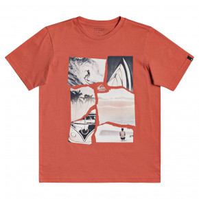 Go to the product T-shirt Quiksilver Torn Apart Ss Youth chili 2020