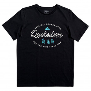 Go to the product T-shirt Quiksilver Wave Slaves Youth black 2019