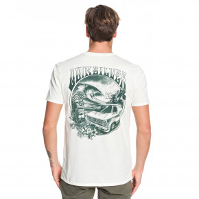 Prejsť na produkt Tričko Quiksilver Waves Women And Wheels antique white heather 2019