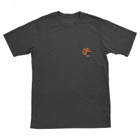 Přejít na produkt Tričko Ronix Jungle Cat charcoal heather/orange 2019