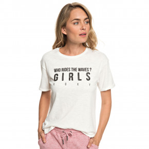 Go to the product T-shirt Roxy Follow Me To The Beach A marshmallow 2019