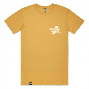 Go to the product T-shirt Santa Cruz Parallel gold 2020