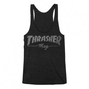 Go to the product T-shirt Thrasher Girl-Mag Logo Racerback black 2019