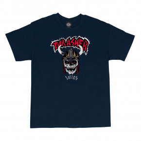Go to the product T-shirt Thrasher Lotties navy blue 2019