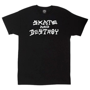 Go to the product T-shirt Thrasher Skate And Destroy black 2017
