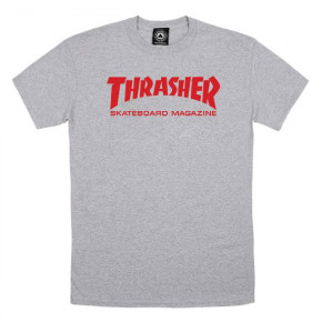 Go to the product T-shirt Thrasher Skate Mag grey 2019