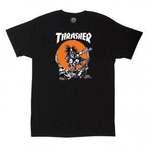 Go to the product T-shirt Thrasher Skate Outlaw black 2018