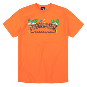 Go to the product T-shirt Thrasher Tiki safety orange 2019