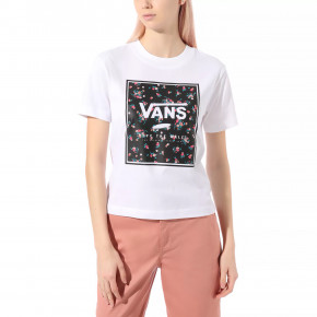 Go to the product T-shirt Vans Boxed In Boxy white 2020