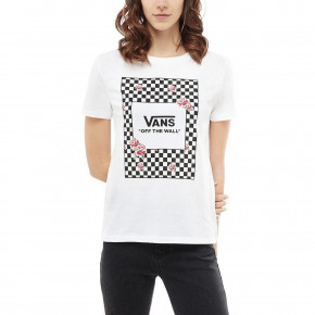 Go to the product T-shirt Vans Boxed Rose Checks white 2018