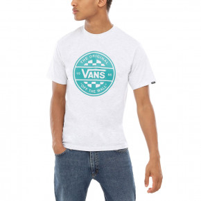 Go to the product T-shirt Vans Checker Co. II ash heather 2019