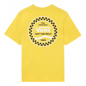 Go to the product T-shirt Vans Checkered Side Stripe Boys sulphur 2019