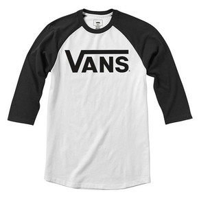 Go to the product T-shirt Vans Classic Raglan Boys white/black 2019