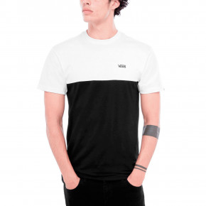 Go to the product T-shirt Vans Colorblock white/black 2019