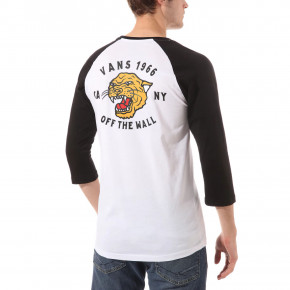 Go to the product T-shirt Vans Growler Raglan white/black 2020