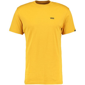 Go to the product T-shirt Vans Left Chest Logo mineral yellow 2017