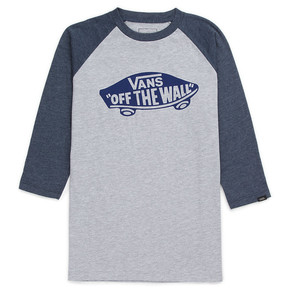 Prejsť na produkt Tričko Vans Otw Raglan Boys athletic heather/navy heather 2017