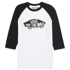 Go to the product T-shirt Vans Otw Raglan Boys white/black 2018