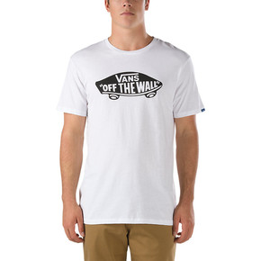 Go to the product T-shirt Vans Otw white/black 2017