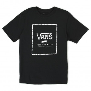 Go to the product T-shirt Vans Print Box Boys black/boneyard 2018