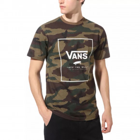 Go to the product T-shirt Vans Print Box Ss camo/white 2020