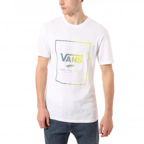 Go to the product T-shirt Vans Print Box Ss white/sulphur spring 2020