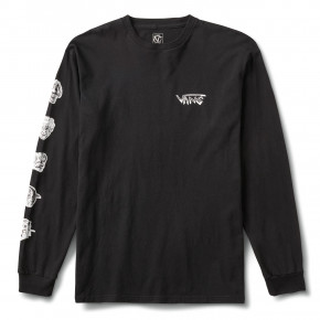 Go to the product T-shirt Vans Rowan Zorilla Faces Ls black 2020