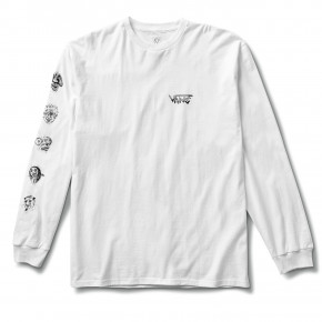 Go to the product T-shirt Vans Rowan Zorilla Faces Ls white 2020