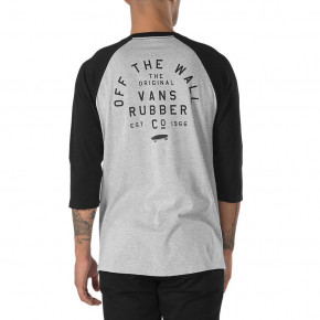 Przejść do produktu Koszulka Vans Stacked Rubber Raglan heather grey/black 2018