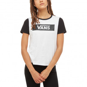 Go to the product T-shirt Vans V Tangle Range Ringer white/black 2019