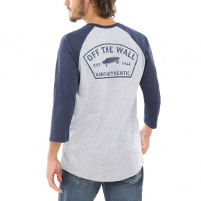 Go to the product T-shirt Vans Vans Workwear Raglan athletic heather/dress blues 2019