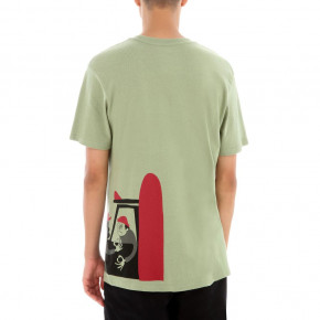 Go to the product T-shirt Vans Yusuke Surfers oil green 2019