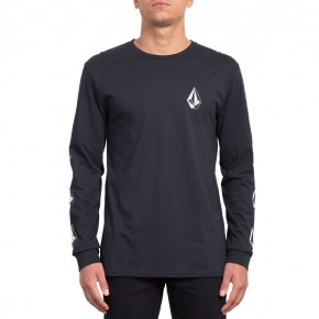 Go to the product T-shirt Volcom Deadly Stone Bsc Ls black 2019
