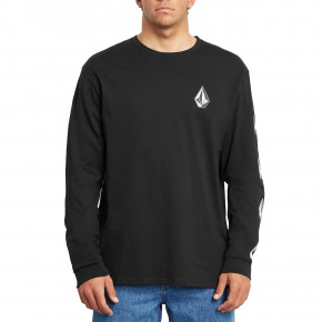 Go to the product T-shirt Volcom Deadly Stone Rlx L/s black 2020